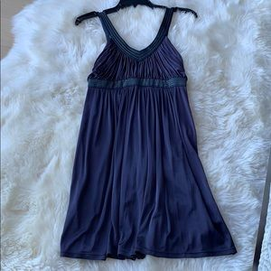 BCBG MAXAZRIA navy dress